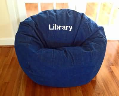 Ahh! bean bags in libraries across the USA!